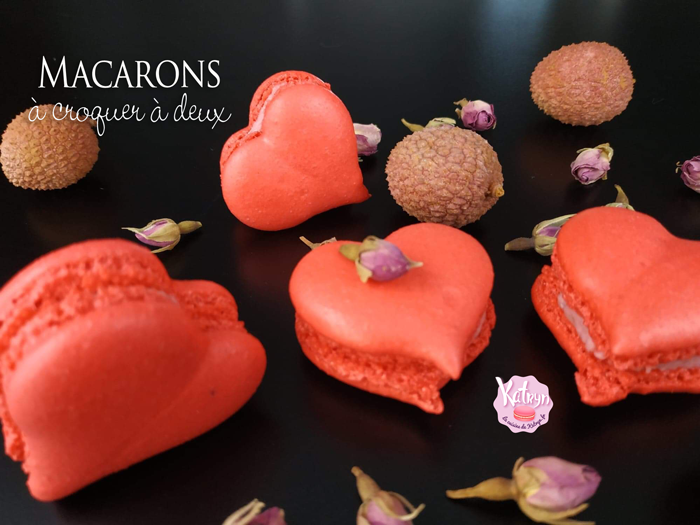 macarons-aux-litchis