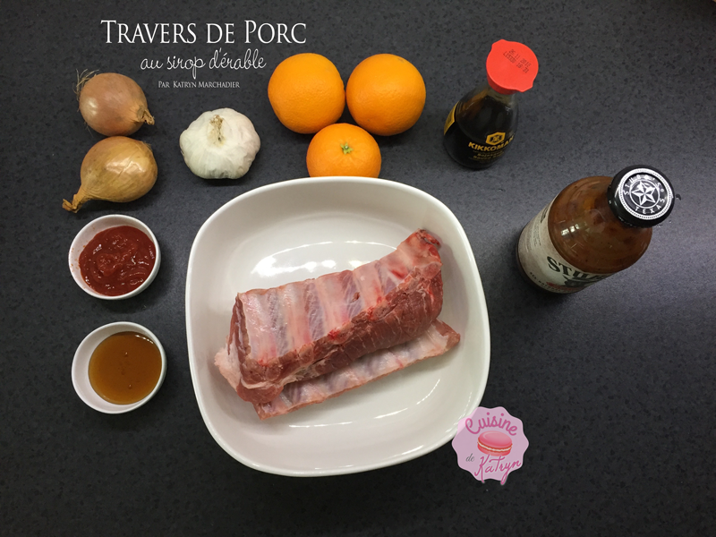 Travers de Porc ou Bibs